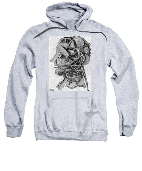 The Head Of An Inventor Sweatshirt