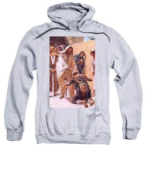 The Healing Of The Leper Sweatshirt