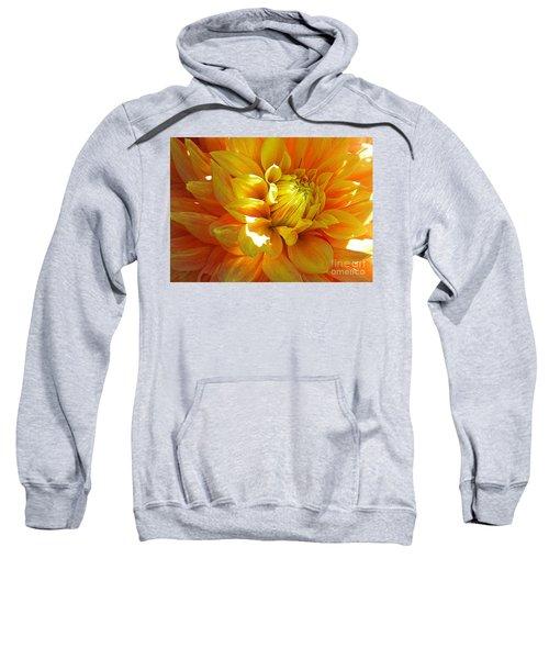 The Heart Of A Dahlia Sweatshirt