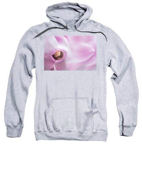 The Heart Of Cyclamen Sweatshirt