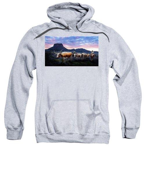Texas Longhorns Blue Sweatshirt