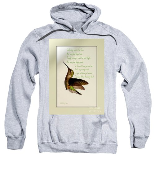 The Hummingbird Sweatshirt