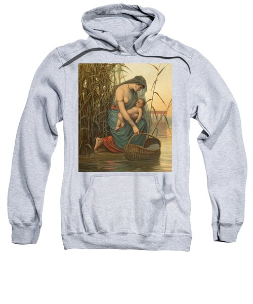 The Infant Moses And His Mother Sweatshirt