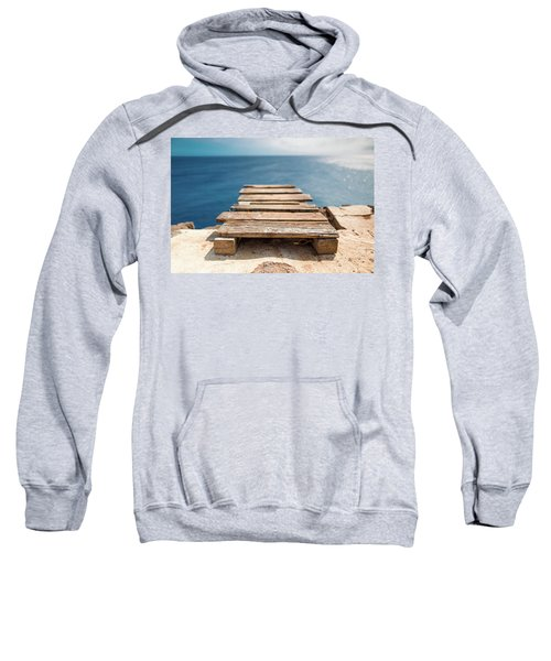 The Infinite Blue Sweatshirt