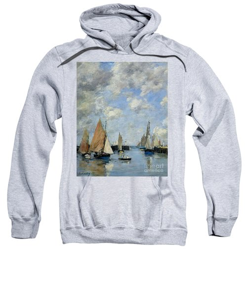The Jetty At High Tide Sweatshirt