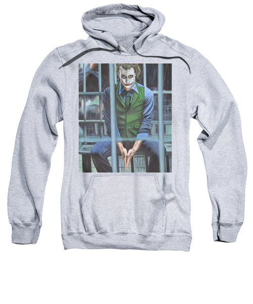 The Joker Sweatshirt by Colm Hutchinson