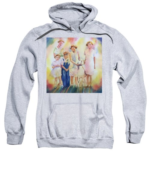 The Kids And The Kid Sweatshirt