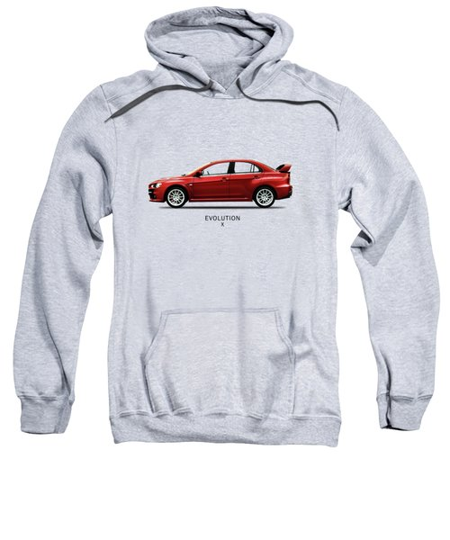 The Lancer Evolution X Sweatshirt by Mark Rogan