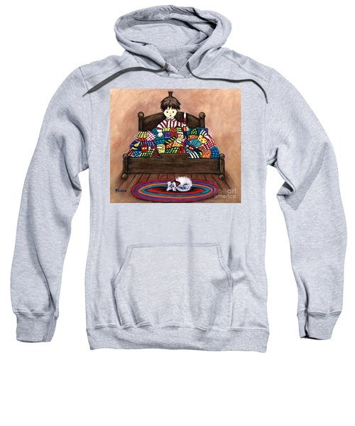 The Land Of Counterpane Sweatshirt