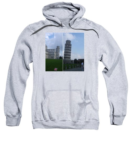 The Leaning Tower Of Pisa Sweatshirt by Patsy Jawo