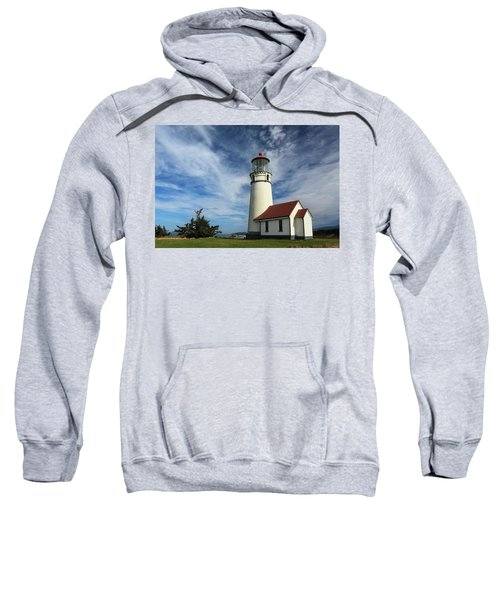 The Lighthouse At Cape Blanco Sweatshirt