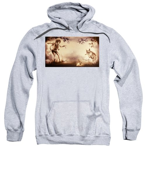 The Little Prince And The Fox Sweatshirt