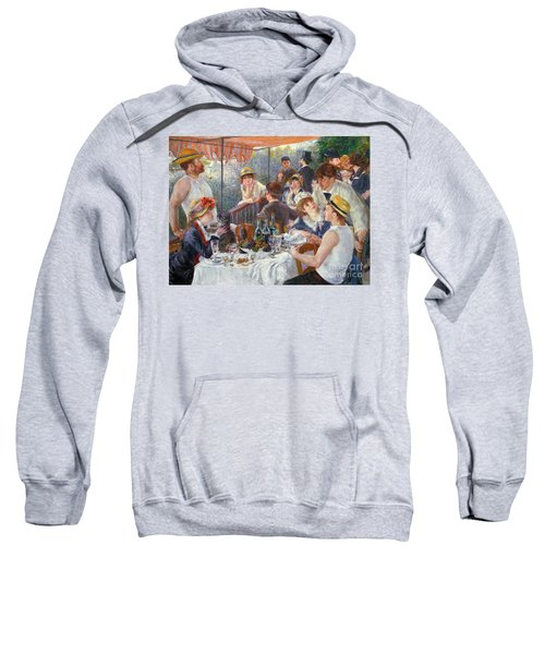 The Luncheon Of The Boating Party Sweatshirt