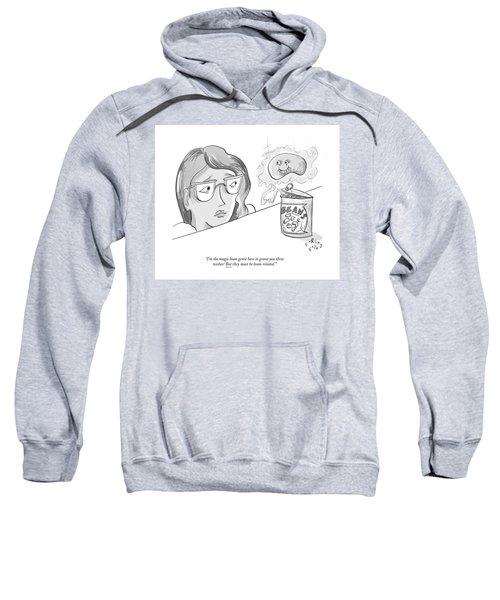 The Magic Bean Genie Sweatshirt
