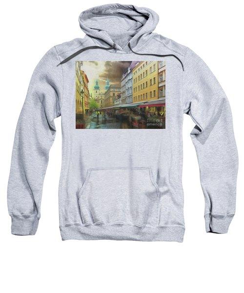 The Market In The Rain Sweatshirt