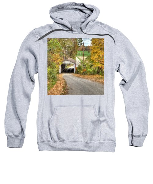 The Melcher Covered Bridge Sweatshirt