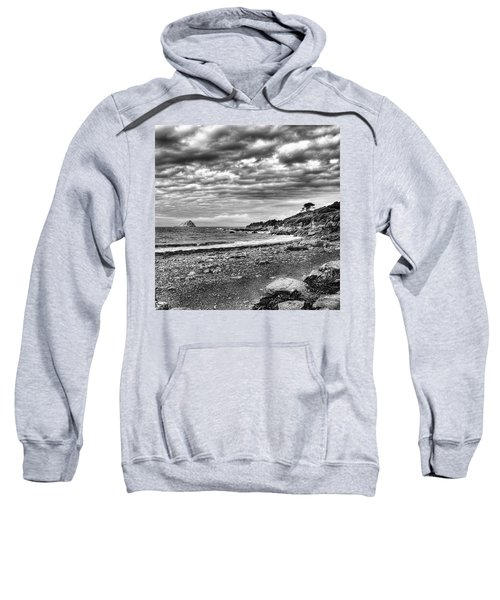 The Mewstone, Wembury Bay, Devon #view Sweatshirt