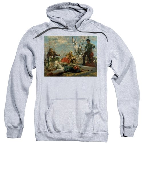 The Midday Rest Sailors Yarning Sweatshirt