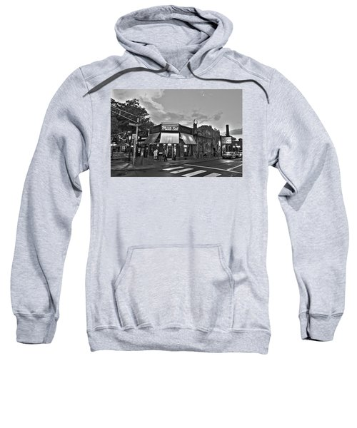The Middle East In Central Square Cambridge Ma Black And White Sweatshirt