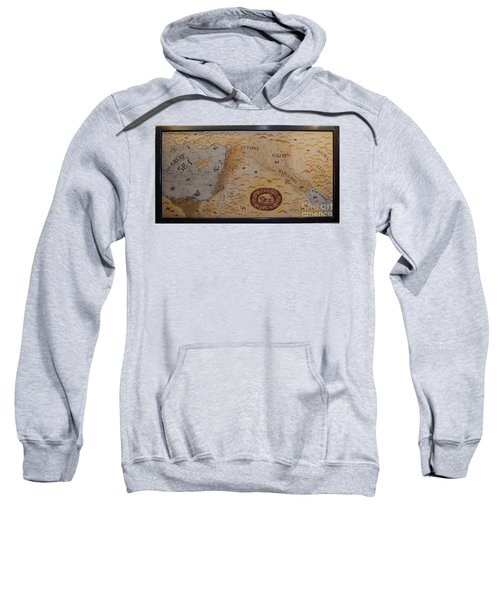 Sweatshirt featuring the photograph The Middle East by Mae Wertz