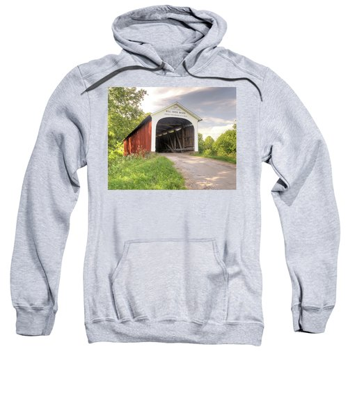 The Mill Creek Covered Bridge Sweatshirt