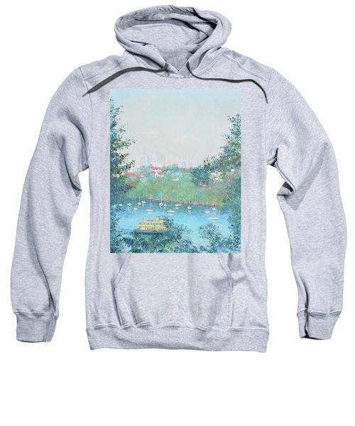 The Mosman Bay Ferry And Sydney Skyline Sweatshirt