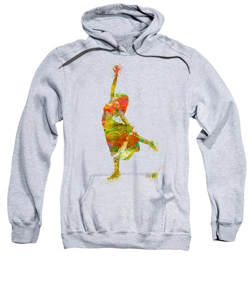 The Music Rushing Through Me Sweatshirt by Nikki Smith