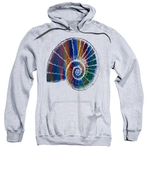 The Nautilus Shell Transparent 2 Sweatshirt