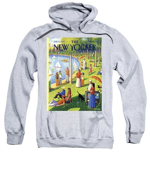 The New Yorker Cover - July 15th, 1991 Sweatshirt