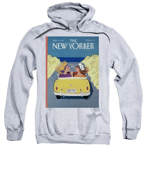 The New Yorker Cover - September 18th, 1989 Sweatshirt