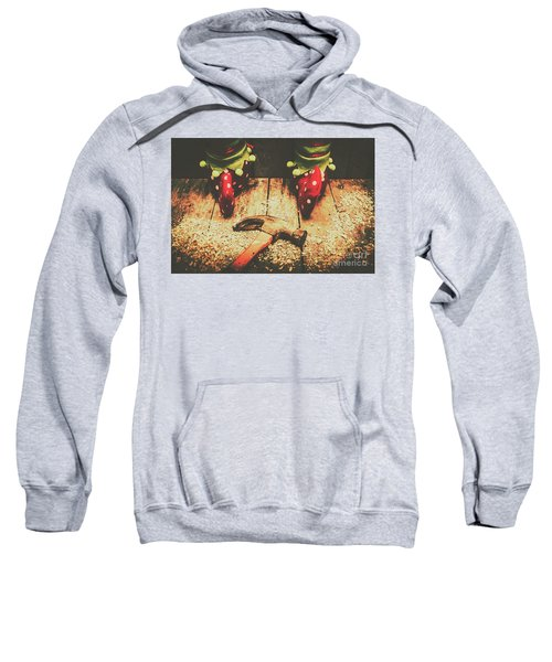 The North Pole Toy Factory Sweatshirt