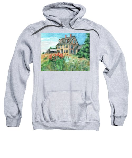 The Olson House With Poppies Sweatshirt