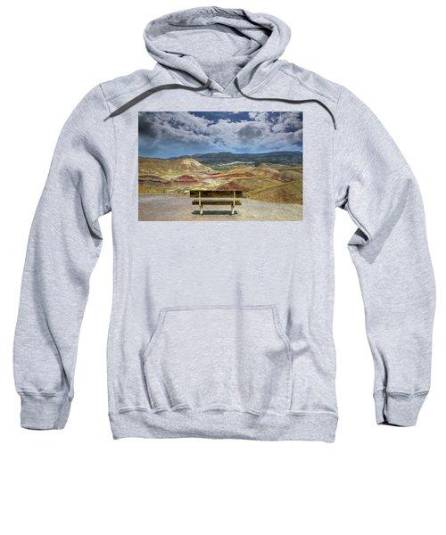 The Overlook At Painted Hills In Oregon Sweatshirt