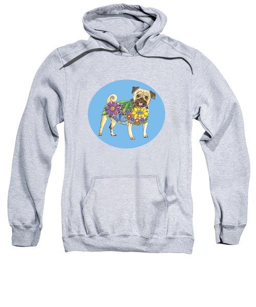 The Pugster Blue Sweatshirt