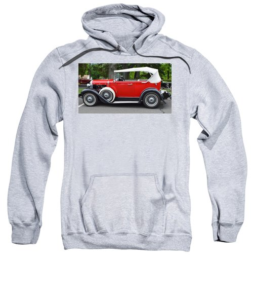 The Red Convertible Sweatshirt