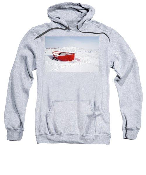 The Red Fishing Boat Sweatshirt
