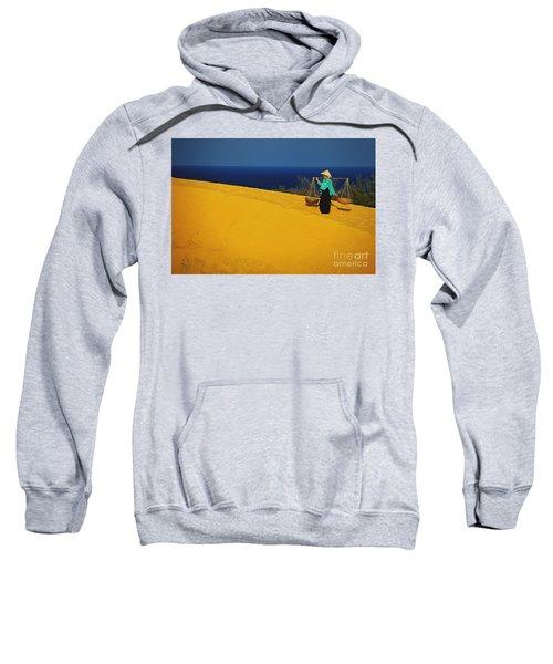The Red San Dunes Of Mui Ne Vietnam Sweatshirt