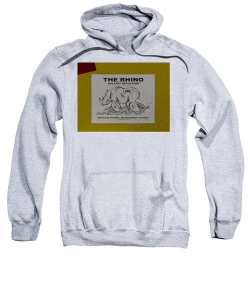 The Rhino Ballast Regulator Sweatshirt