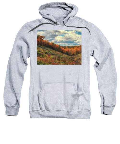 The Ridges Of Southern Ohio In Fall Sweatshirt