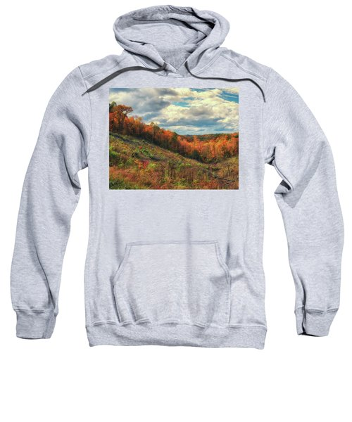 The Ridges Of Southern Ohio In Fall Sweatshirt