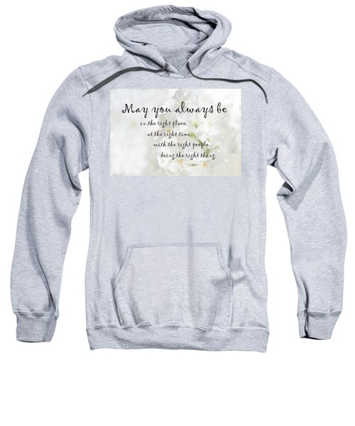 The Right Place Blessing Sweatshirt