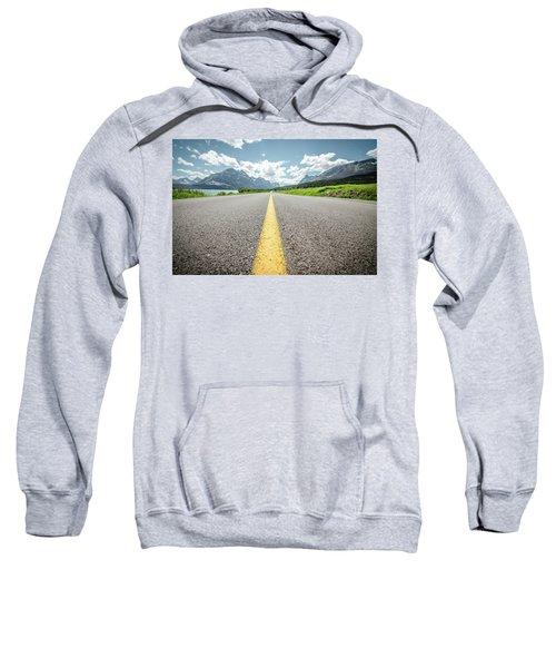 The Road To Glacier Sweatshirt