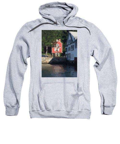 The Sacred Cod And Beacon Marine Sweatshirt by Melissa Abbott