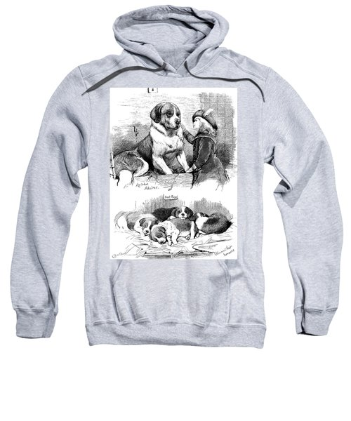 The Saint Bernard Club Dog Show Sweatshirt