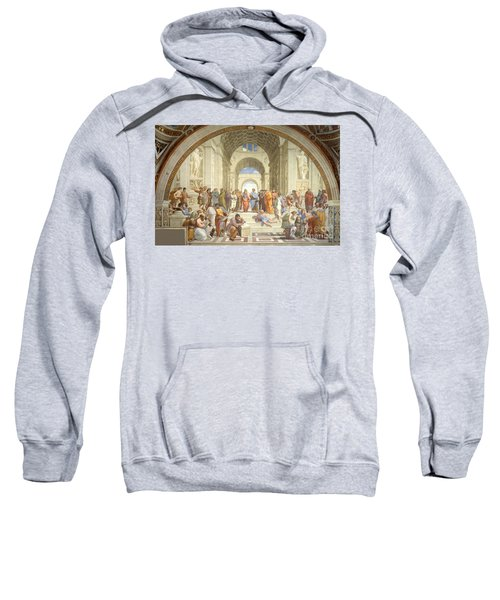 The School Of Athens, Raphael Sweatshirt