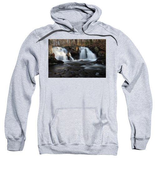 The Secret Waterfall In Golden Light Sweatshirt