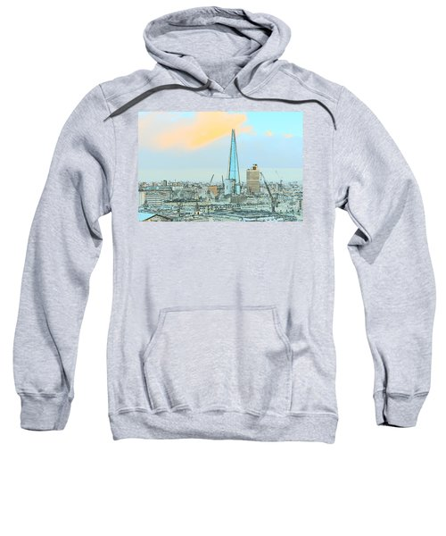 The Shard Outline Poster Sweatshirt