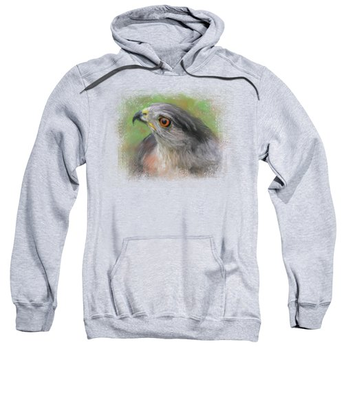 The Sharp Shinned Hawk Sweatshirt by Jai Johnson