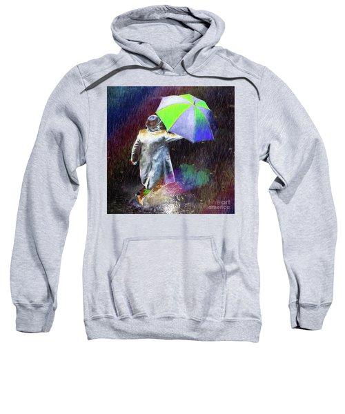 The Sheer Joy Of Puddles Sweatshirt