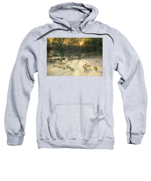 The Shortening Winters Day Is Near A Close Sweatshirt